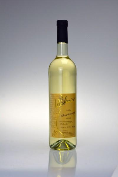 2018er Chardonnay Qualitätswein edelsüß