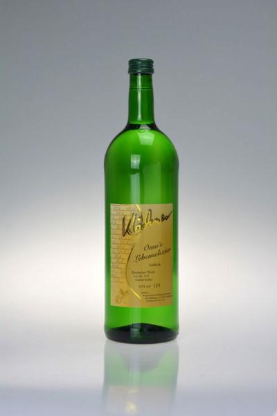 2019er Bacchus Deutscher Wein - Oma's Lebenselexier
